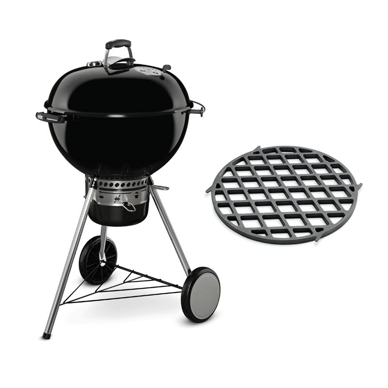 Weber Master-Touch GBS System Edition Black met Sear Grate Houtskool BBQ