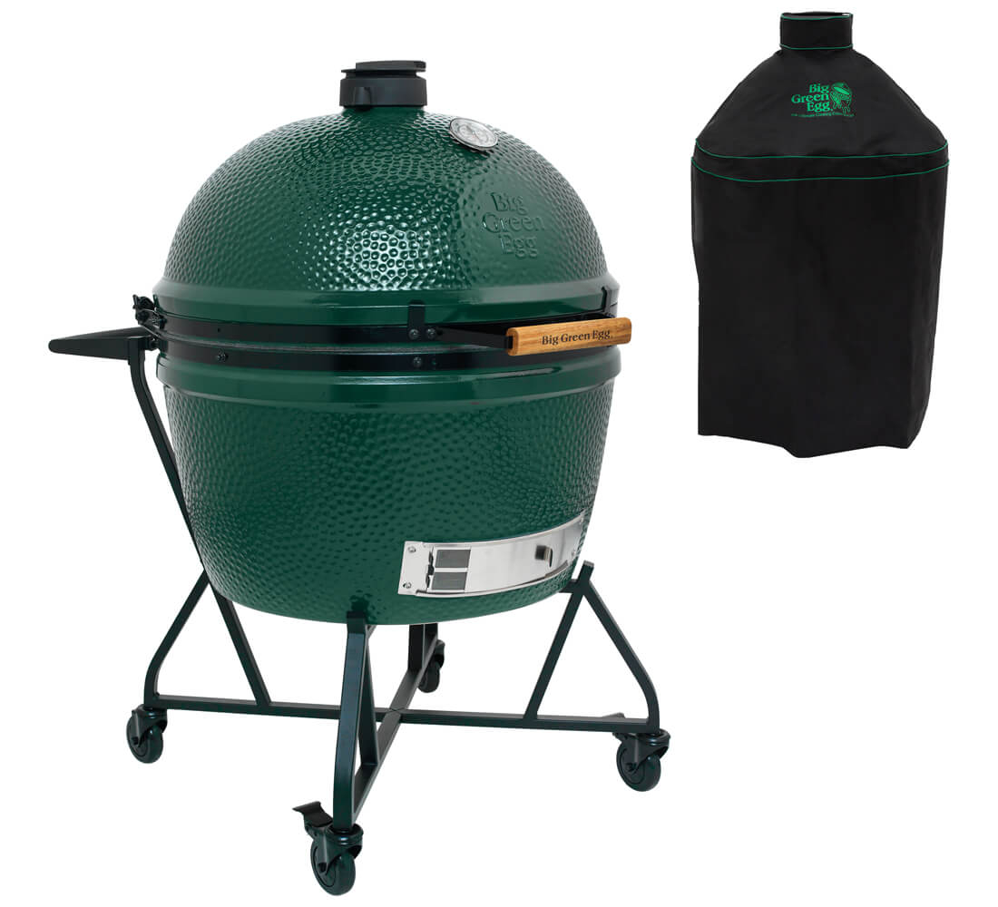 Big Green Egg 2XL + Integrated Nest+Handler + Cover