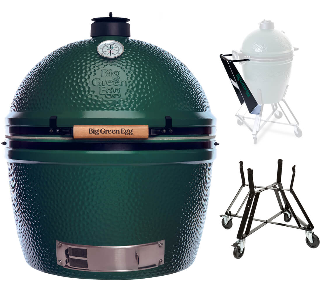 Big Green Egg 2XL + Nest + Nest Handler