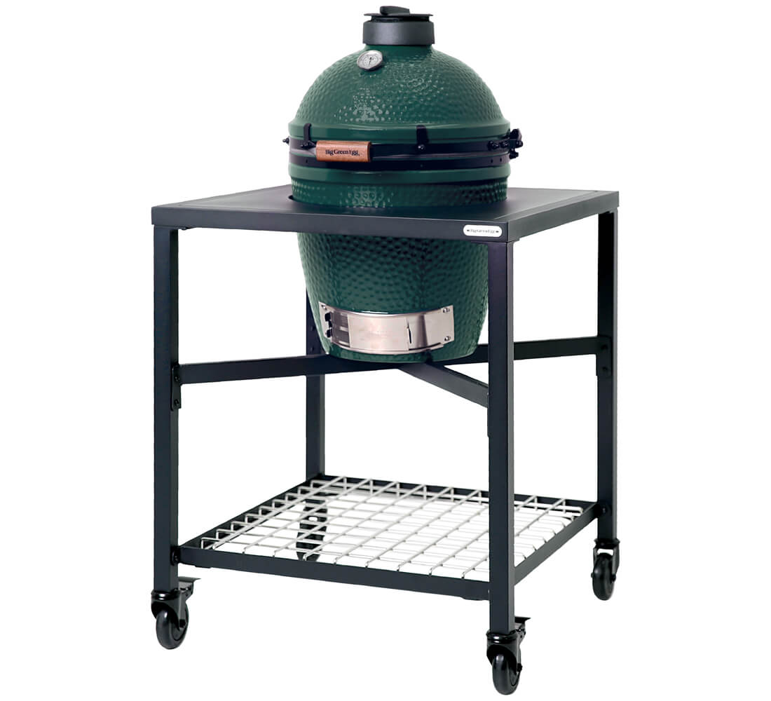 Big Green Egg Medium + Egg Frame Medium
