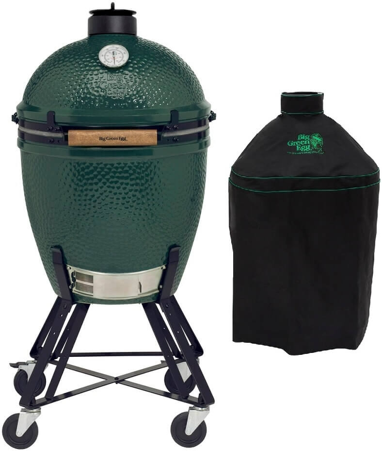 Big Green Egg Large + Onderstel + Hoes