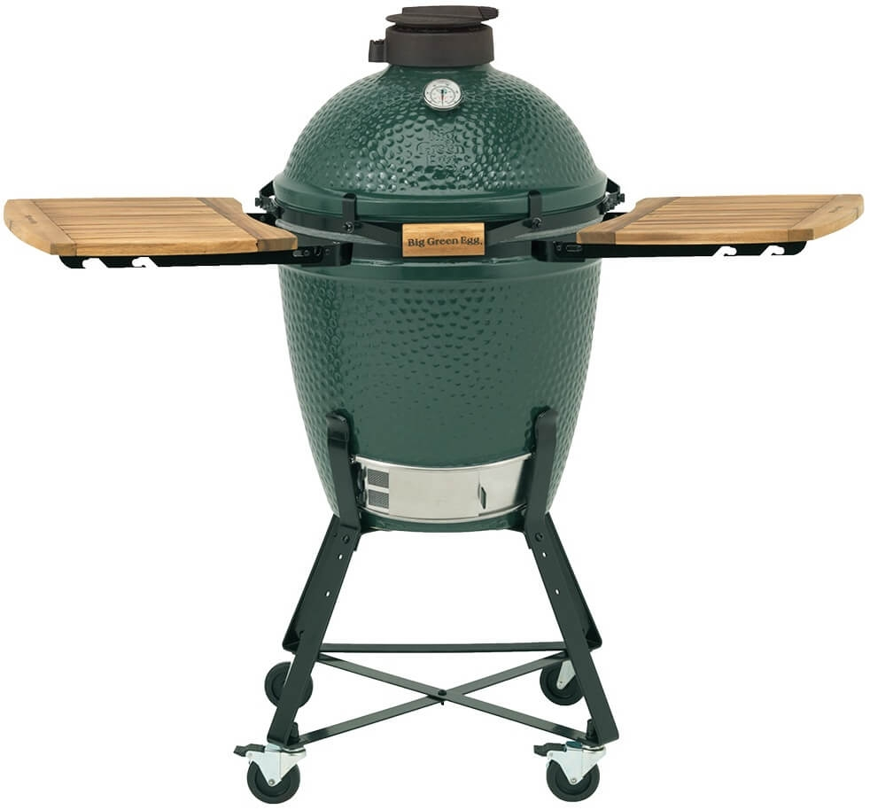 Big Green Egg Medium + Onderstel + Zijtafels