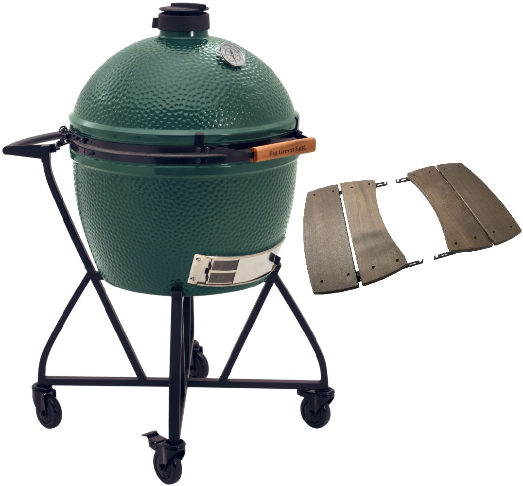 Big Green Egg XLarge + Integgrated Nest+Handler + Zijtafels