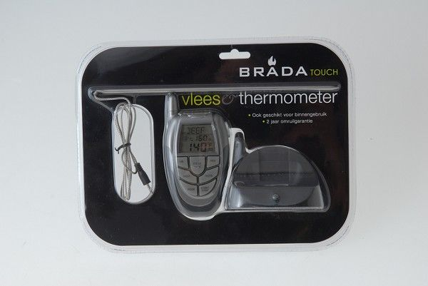 Brada Touch Vleesthermometer (draadloos)