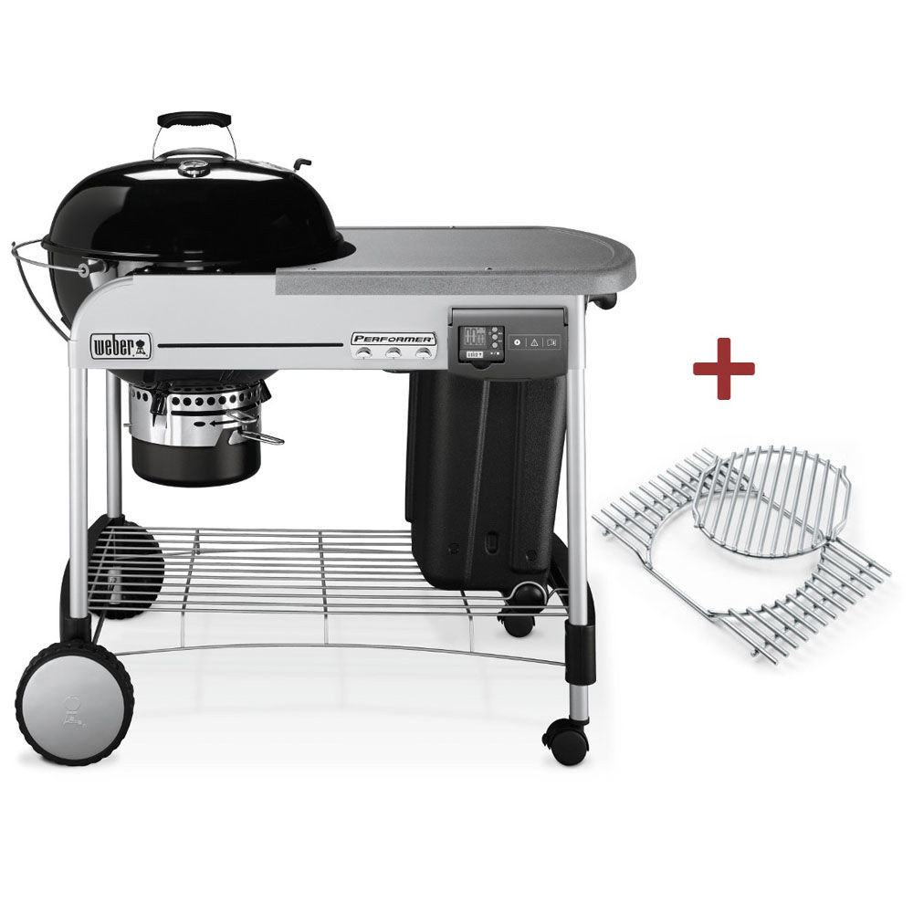Weber Performer® Deluxe GBS System Edition 57 cm Black