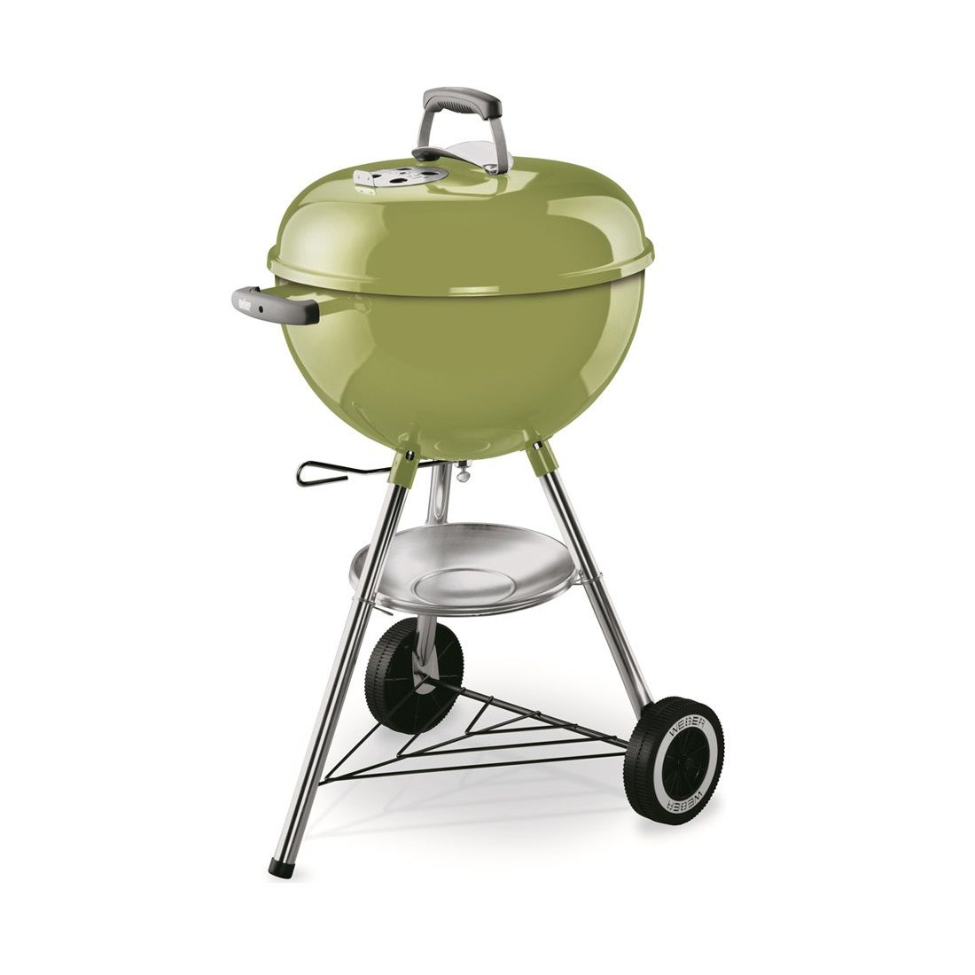 weber one touch original 47 cm spring green d bbq winkel van nederland en belgi allesvoorbbq. Black Bedroom Furniture Sets. Home Design Ideas