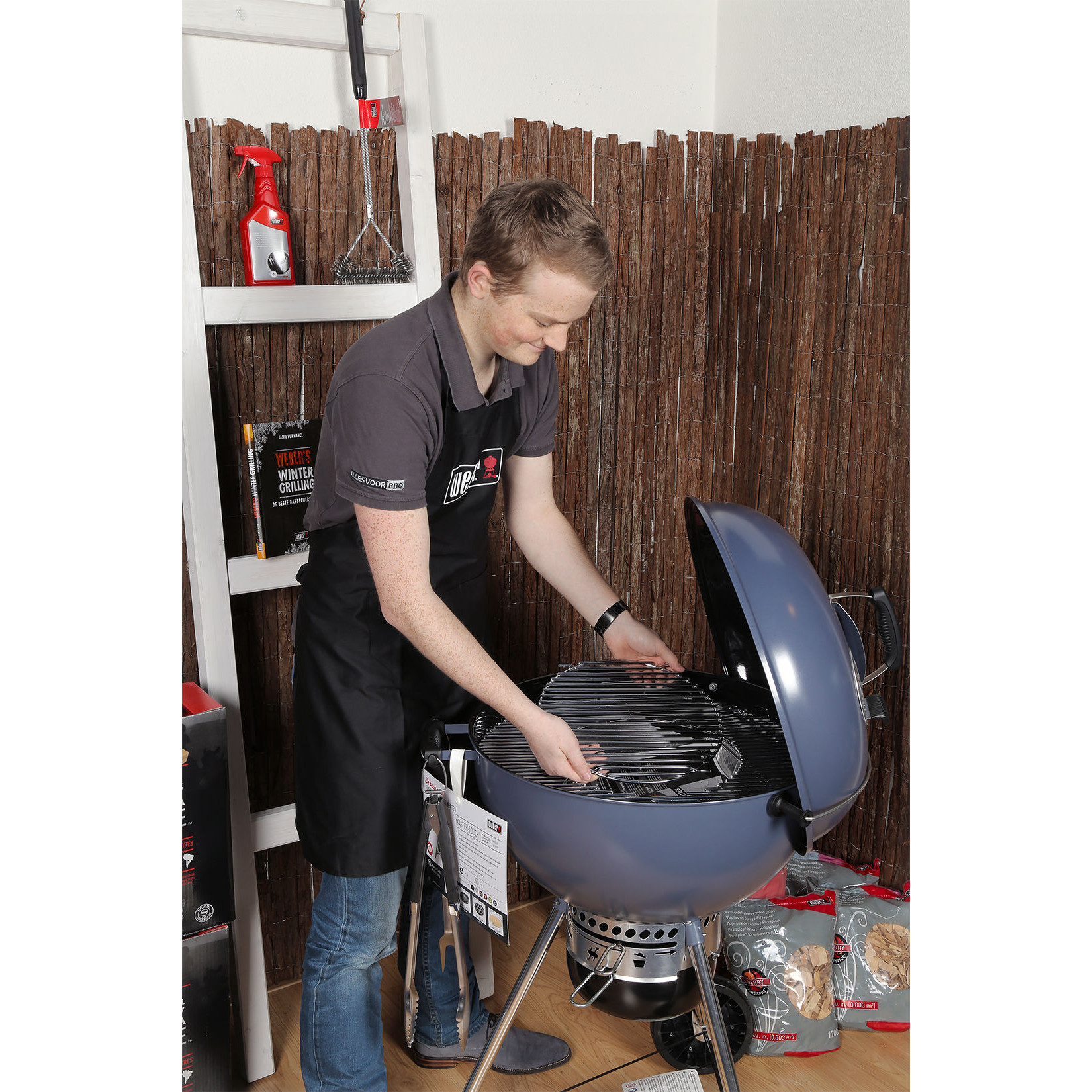 Weber Master Touch GBS Edition 57 cm Slate Blue