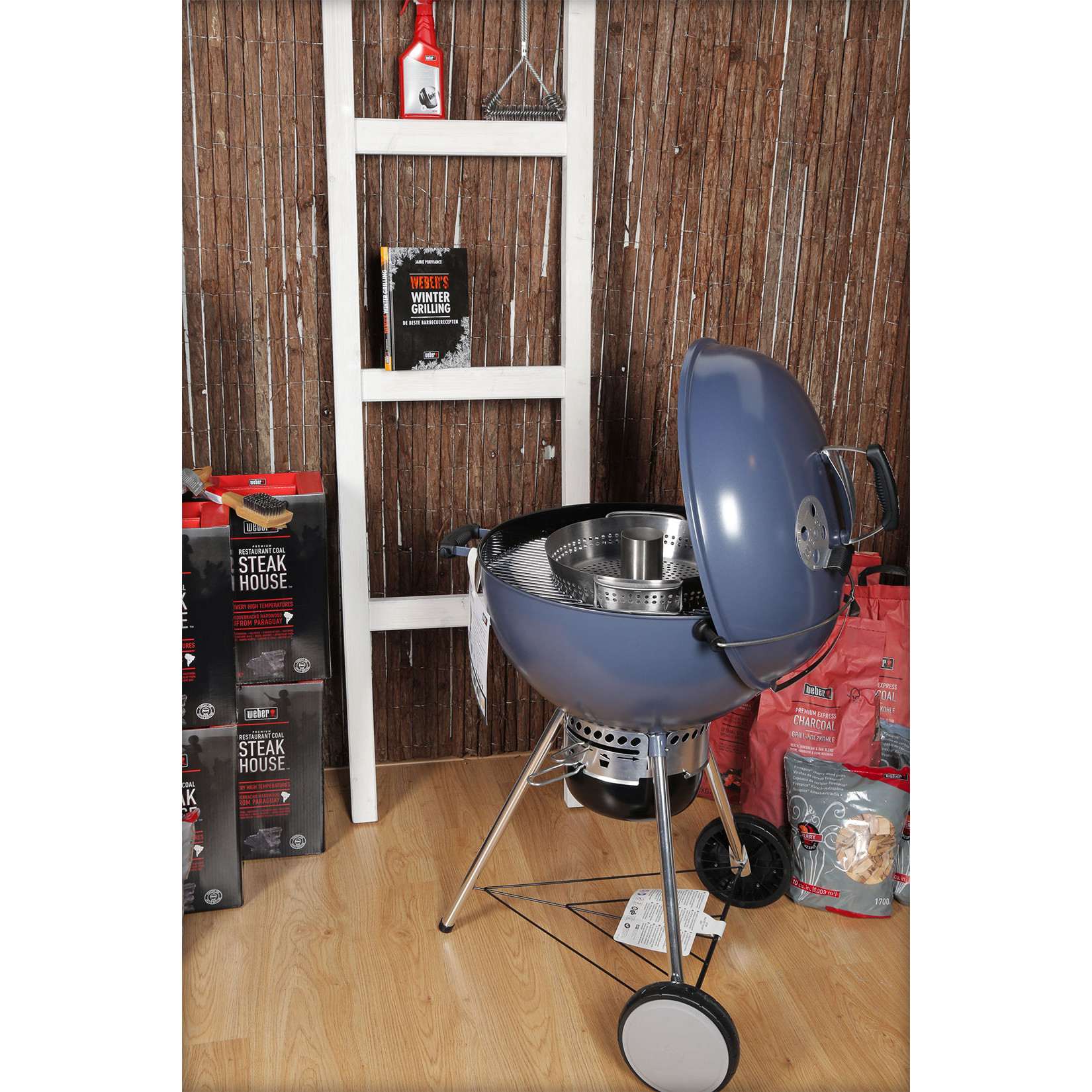 weber master touch gbs system edition 57 cm slate blue d bbq winkel van nederland en. Black Bedroom Furniture Sets. Home Design Ideas