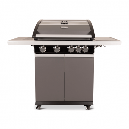 Patton Patio Pro Chef 4+ -burner Frozen Grey Vooraanzicht