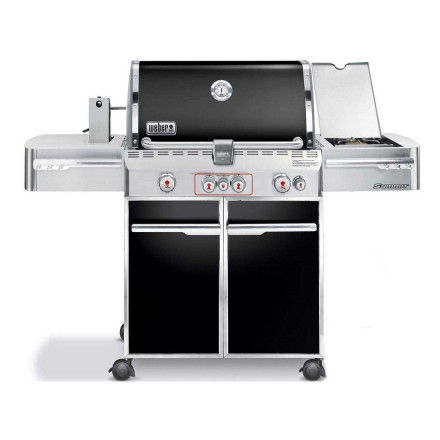 Weber Summit E-470 Zwart