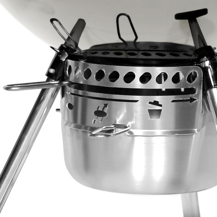 Weber Master Touch GBS System Edition Ivory met Sear Grate