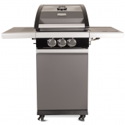 Vooraanzicht Patton Patio Pro Chef 2+ -burner Frozen Grey