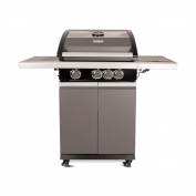 Patton Patio Pro Chef 3+ -burner Frozen Grey Vooraanzicht