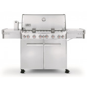 WEBER SUMMIT S-670 RVS BBQ