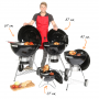 """Weber Master-Touch® GBS """"System Edition"""" 57 cm Smoke Grey"""