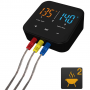 Patton Emax Bluetooth Smart thermometer incl. 3 RVS probes Productfoto 2
