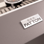 Patton Patio Pro Chef 4+ -burner Frozen Grey Logo