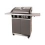 Patton Patio Pro Chef 4+ -burner Frozen Grey Rechterzijaanzicht