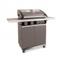 Patton Patio Pro Chef 4+ -burner Frozen Grey Linkerzijaanzicht