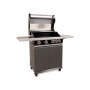 Patton Patio Pro Chef 4+ -burner Frozen Grey Klep open