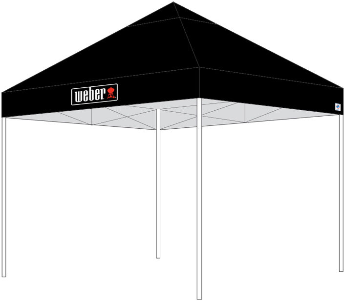 Image of Weber Partytent 3x3 meter