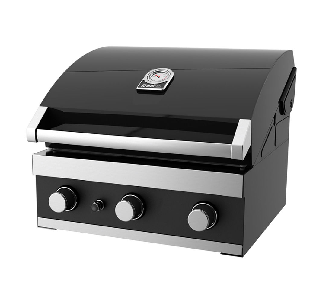 Grandhall Premium GT3 Built-In Gas BBQ