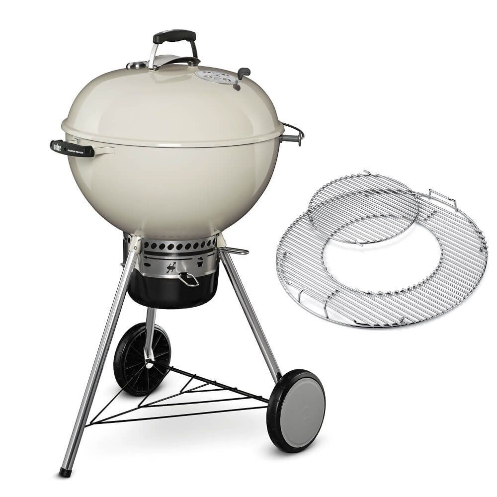 Weber Master-Touch GBS System Edition 57 cm Ivory Houtskool BBQ