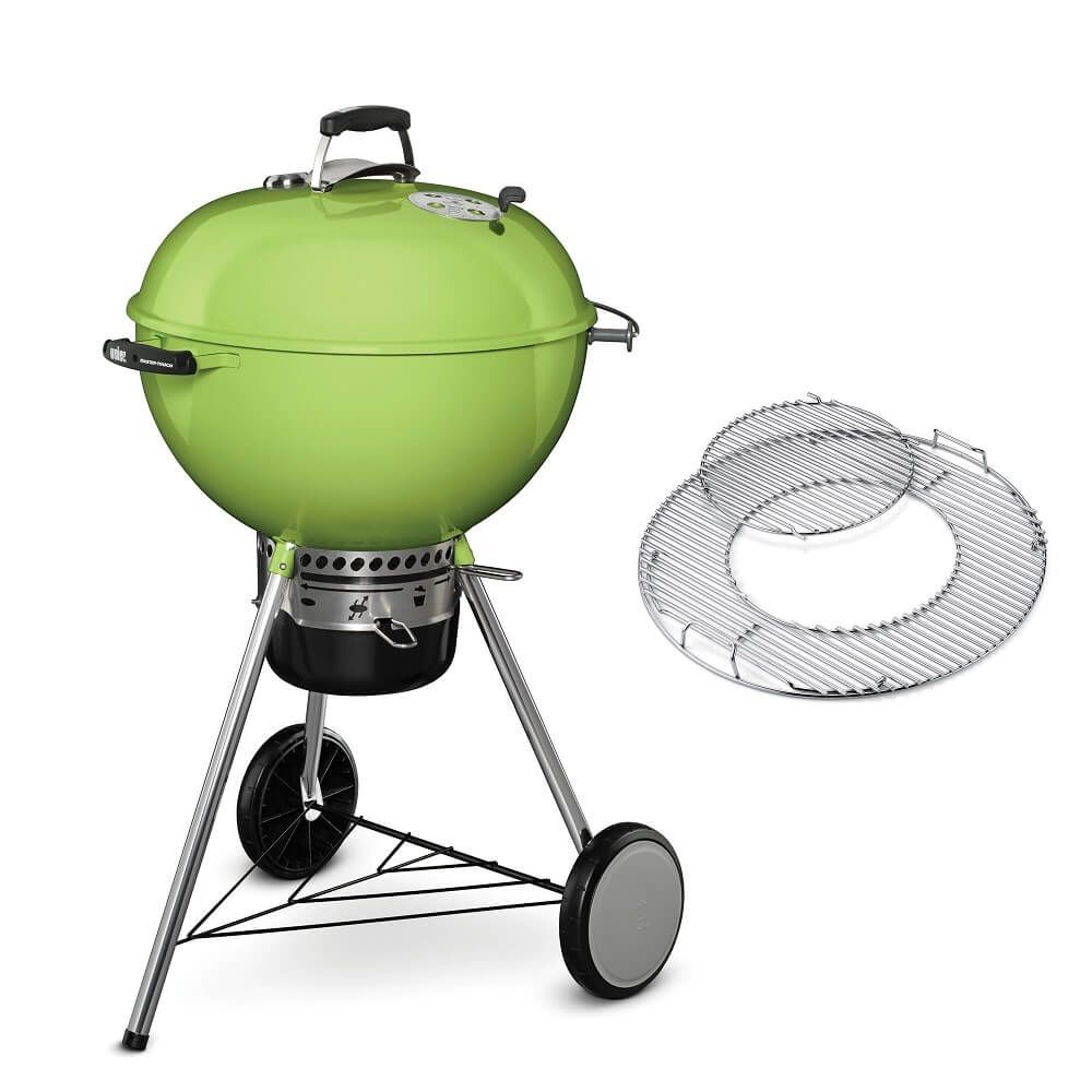 Weber Master-Touch GBS System Edition 57 cm Spring Green Houtskool BBQ