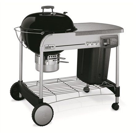 Weber Performer Deluxe GBS System Edition 57 cm Black