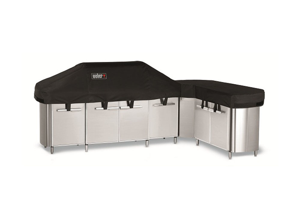 Weber Summit Grill Center incl. social area 7560 beschermhoes