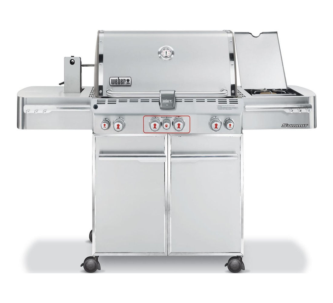 Weber Summit S-470 GBS System Edition RVS