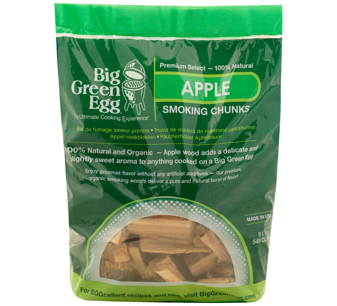 Big Green Egg Wood Chunks Apple