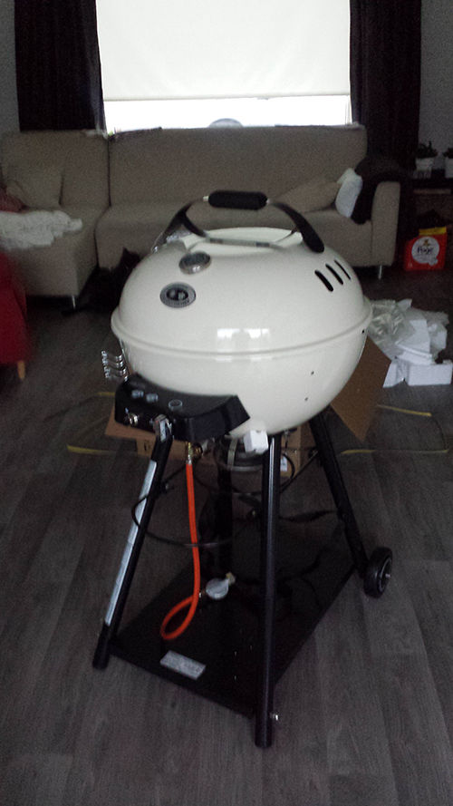 Barbeque outdoorchef leon 570g vanille